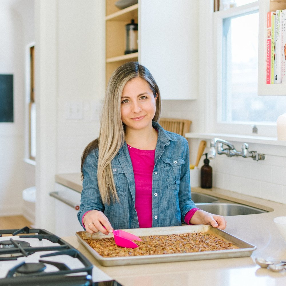 Hi, I'm Gianna! - Making and sharing nutritiously delicious creations that bring health and happiness is my jam. Since graduating with my Community Health degree nearly 5 years ago, I've been working with Ooooby (Out Of Our Own Backyards) to deliver hundreds of boxes of local, organic fruits and vegetables throughout the Central Valley. Ooooby also offers local artisan products, which is why the idea of offering one of my own products came to mind. At first, I thought I would only package the granola for Ooooby customers, until many others tried it, loved it, and wanted more. It's now available in a handful of local coffee shops, markets, and cafés. Thank you for visiting tasteND.com. I hope you enjoy the 'Nolas!