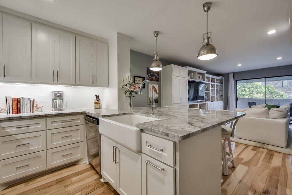 Condo Kitchen Design Austin Texas