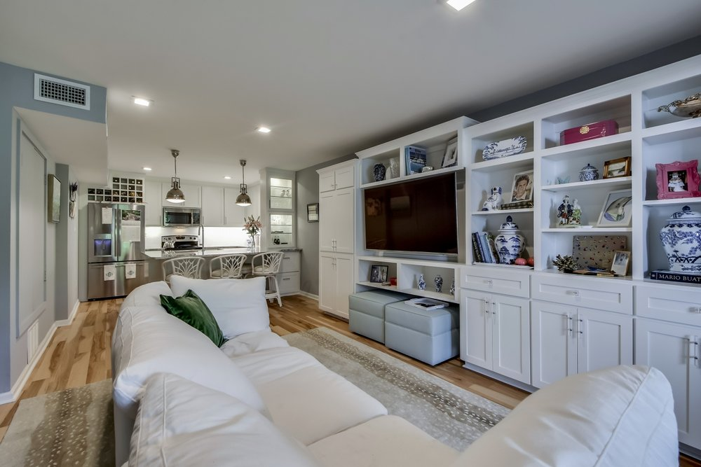 Condo Living Room Design Austin Texas