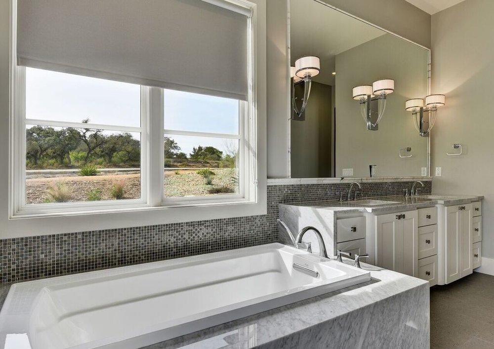 Guest Bath Interior Design Austin Texas
