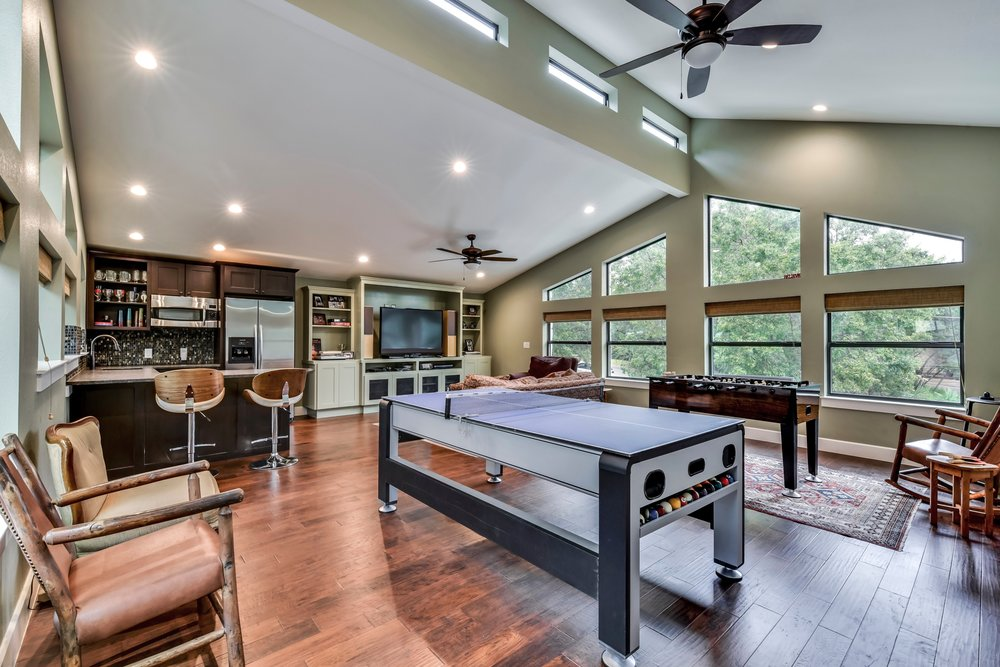 Game Room Interior Design Austin Texas