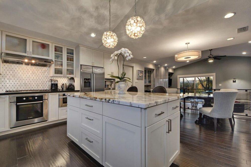 Open Kitchen Design Austin