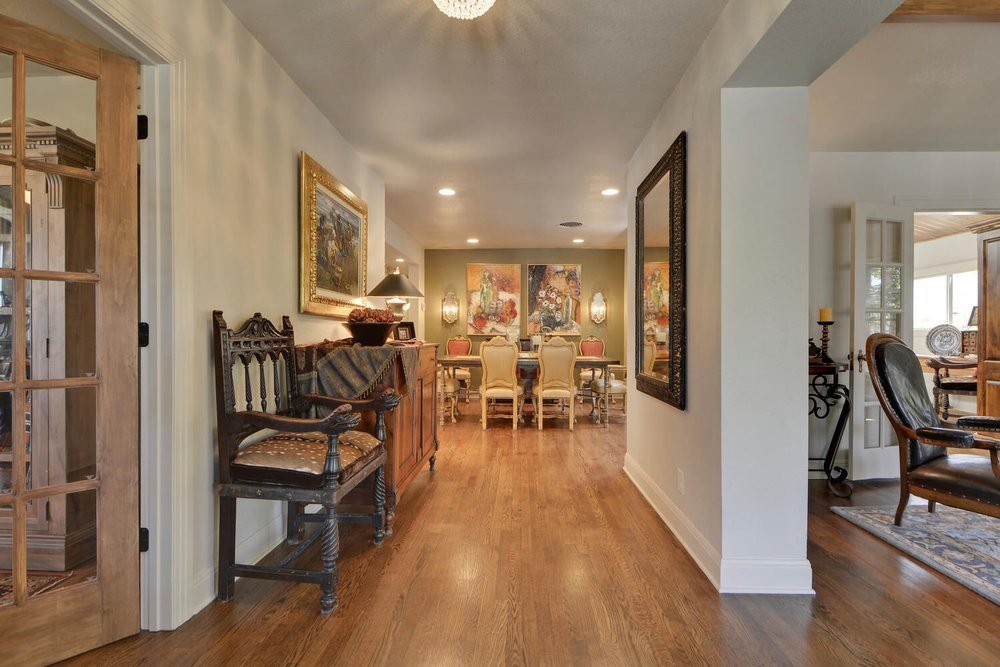 European style home interior design Austin