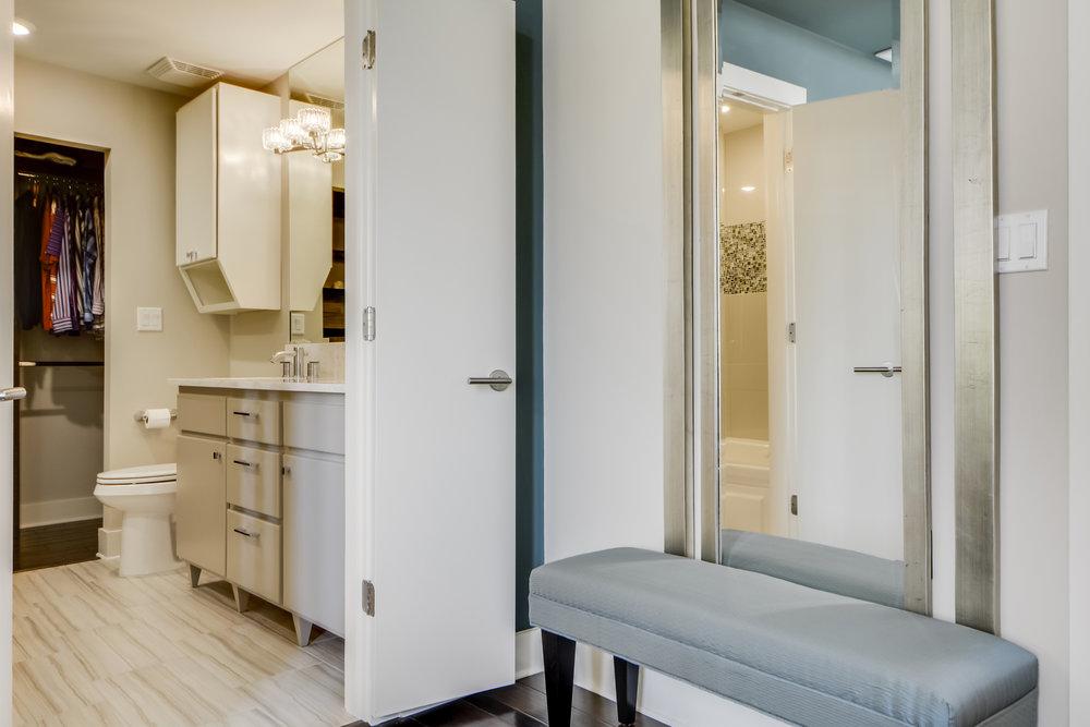 White Bathroom Interior Design