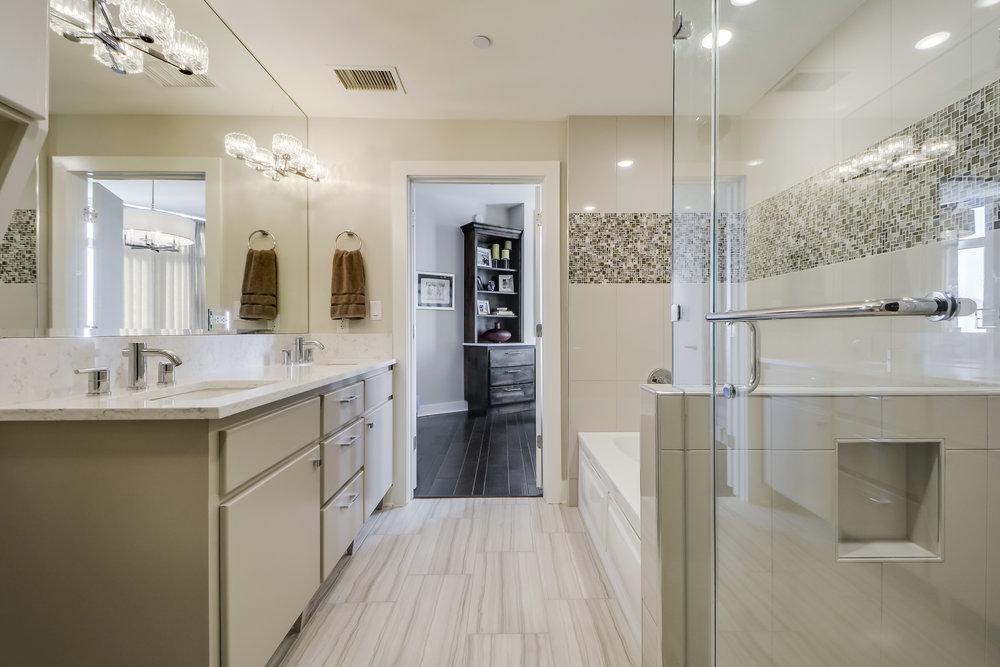 Master Bath Interior Design Austin