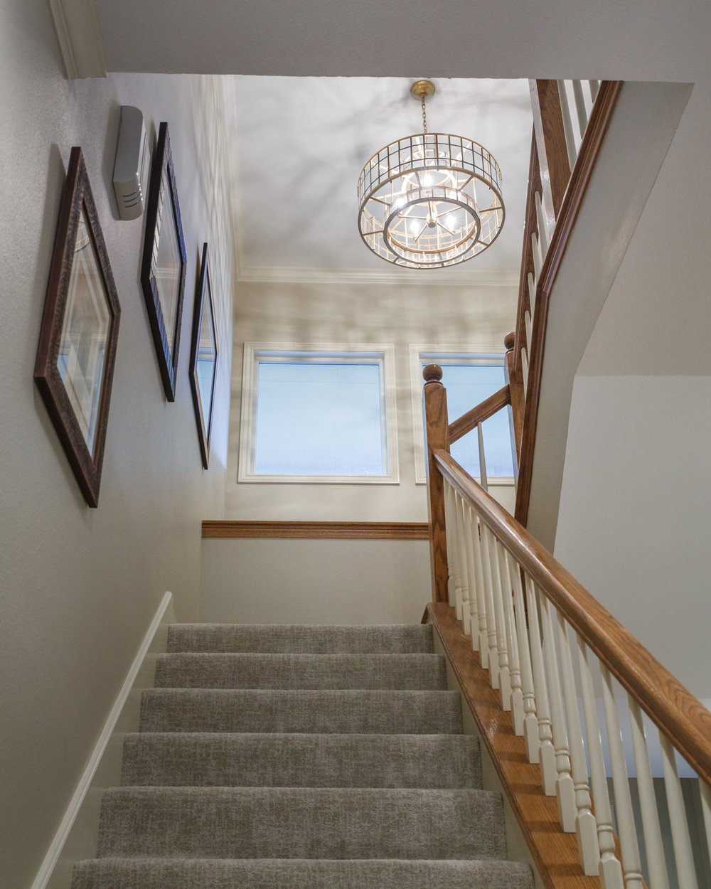 Staircase Design with Lighting