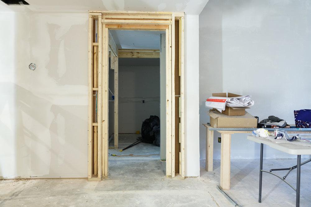 New Master Bedroom Entry