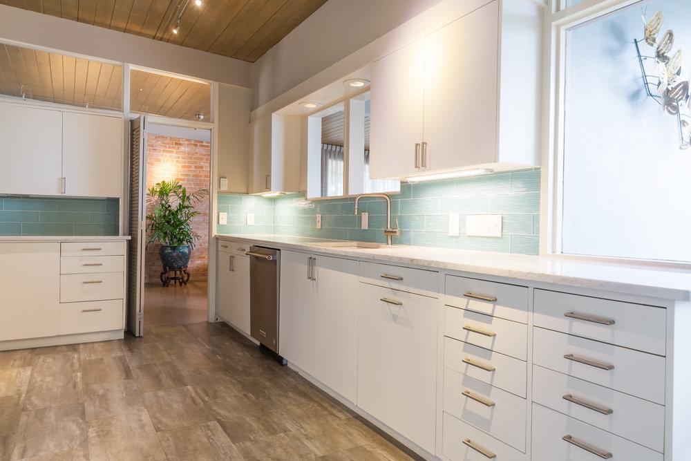 Mid-Century Modern Kitchen Designer Austin