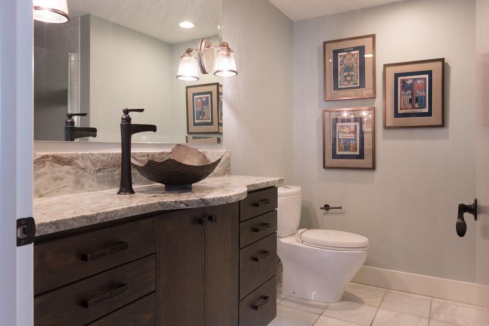 Bathroom Design Downtown Austin Condo