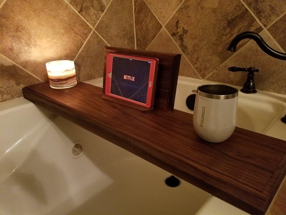 Bath Caddies — Rollins & Co. Woodworking