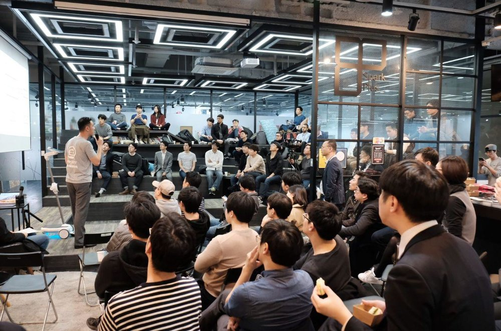 #12 Hashed Lounge - March 15th, 2018 / @Sparkplus, SEOUL- Kambria- Project PAI (Oben)- IOT Chain