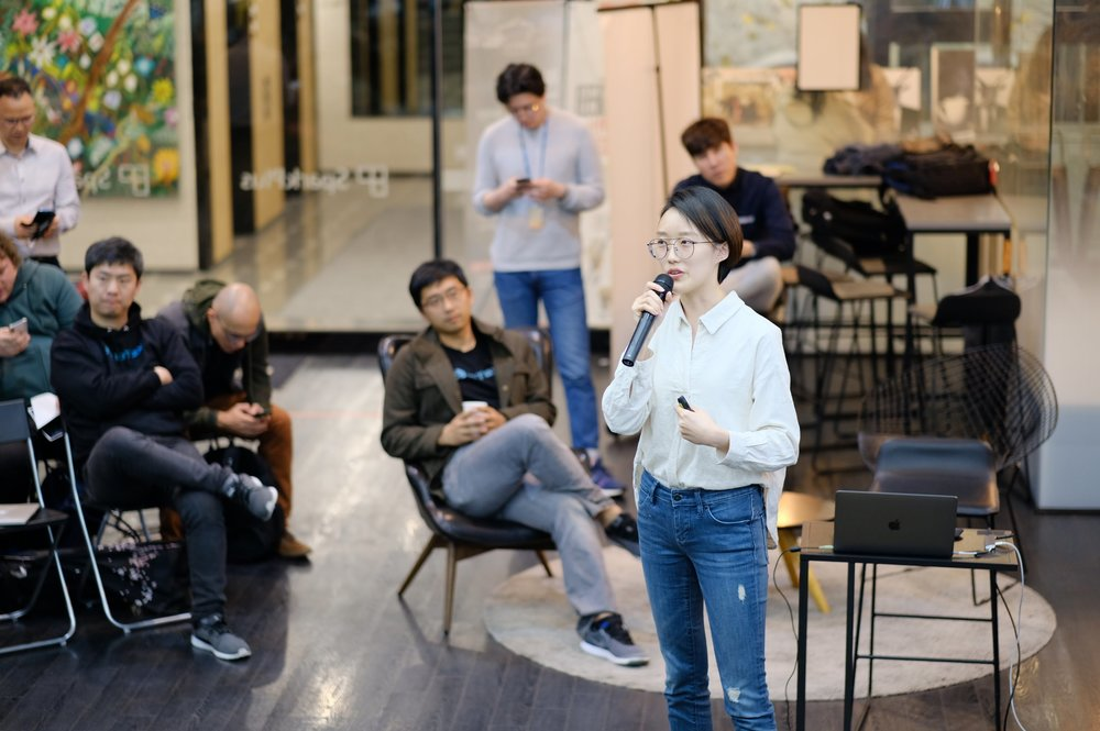 #15 Hashed Lounge - April 5th, 2018 / @Sparkplus, SEOUL- Yunseon Jang, Research Analyst of #Hashed- Simon Dixon, CEO of Bnktothefuture- Raullen Chai, Co-founder of IoTeX