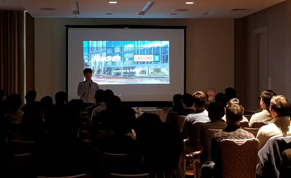 Blockchin Night in San Francisco - May 21st, 2018 / @InterContinental SF- Ethan Kim, Partner of #Hashed- Jason Han, CEO of Ground X