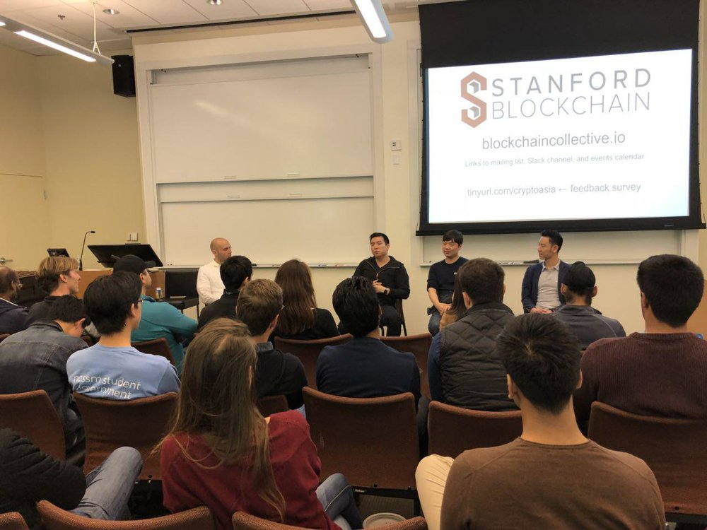 Crypto in Asia: Stanford Blockchain Colletive - May 23rd, 2018 / @Stanford Univ.- Ethan Kim, Partner of #Hashed- Alex Shin, Partner of #Hashed- Thuc Vu, Co-founder of Kambria