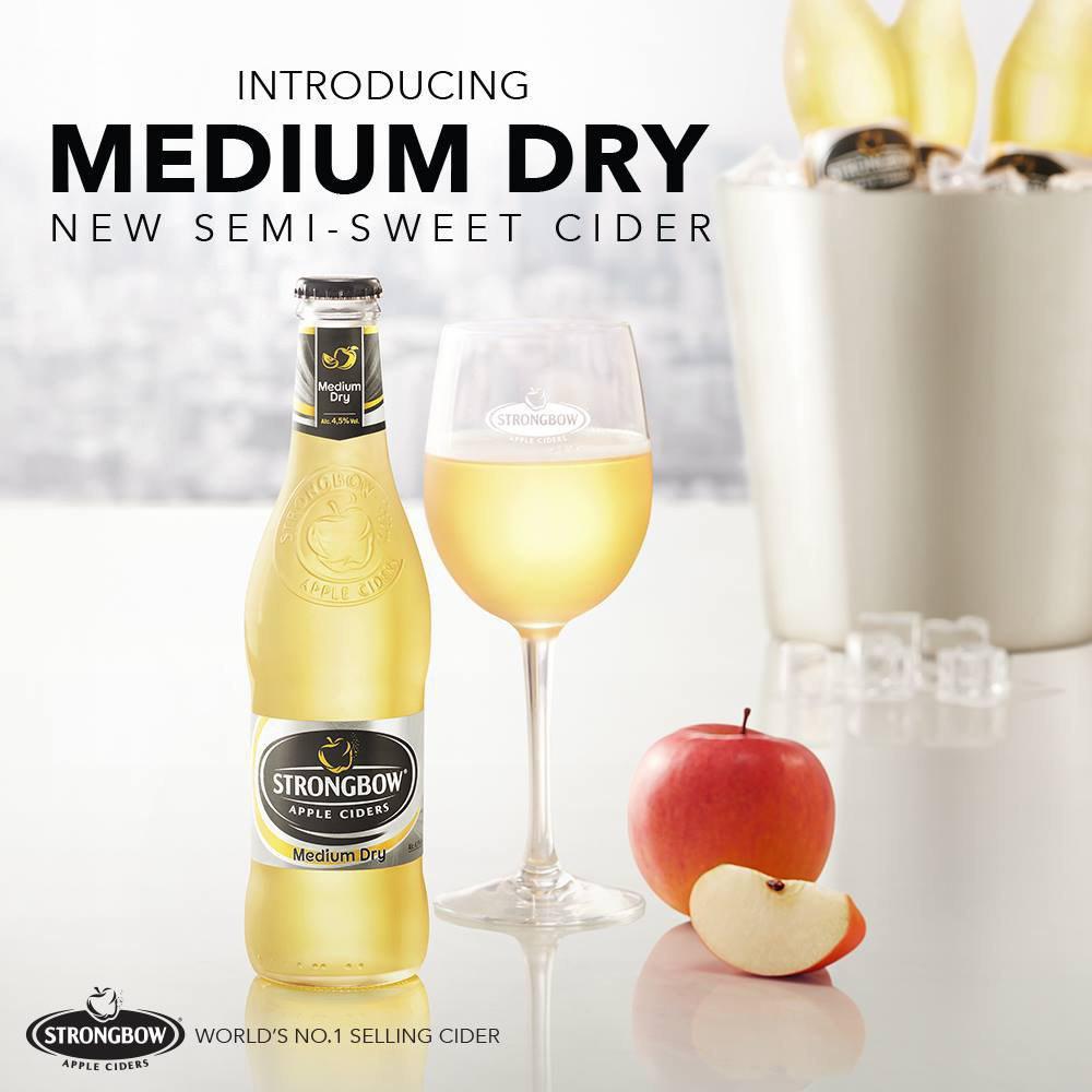 Strongbow - Medium Dry Cider