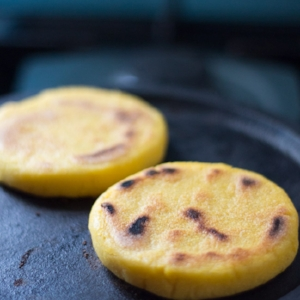 Basic Arepas Recipe / via The Cooks Pyjamas