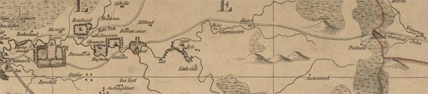 Andrew Armstrong 1775 map