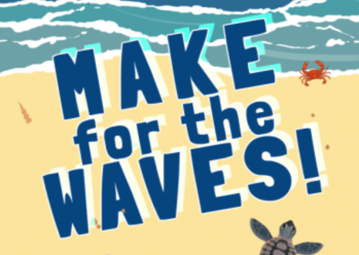 Make for the Waves! - Make for the Waves is a game about baby turtles breaking out of their shells. You hatch on a tropical beach and then race to the ocean as fast as you can with your siblings. The first one to hit the waves gets the crown! How long can you keep hold of it? --- This game was built using an online video game console called Air Console. You and your friends use your smartphones to as gamepads to play fun local multiplayer games together right in your browser. Check it out here.