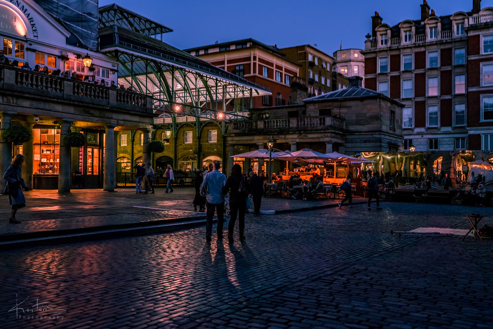 A Night Walk in Covent Garden