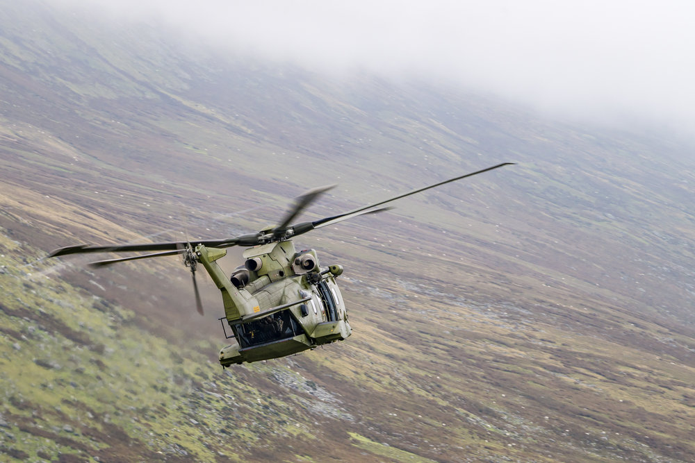 EH101 helikoptere i Wales