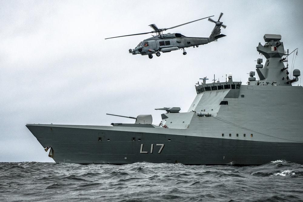 MH-60R Seahawk til søs