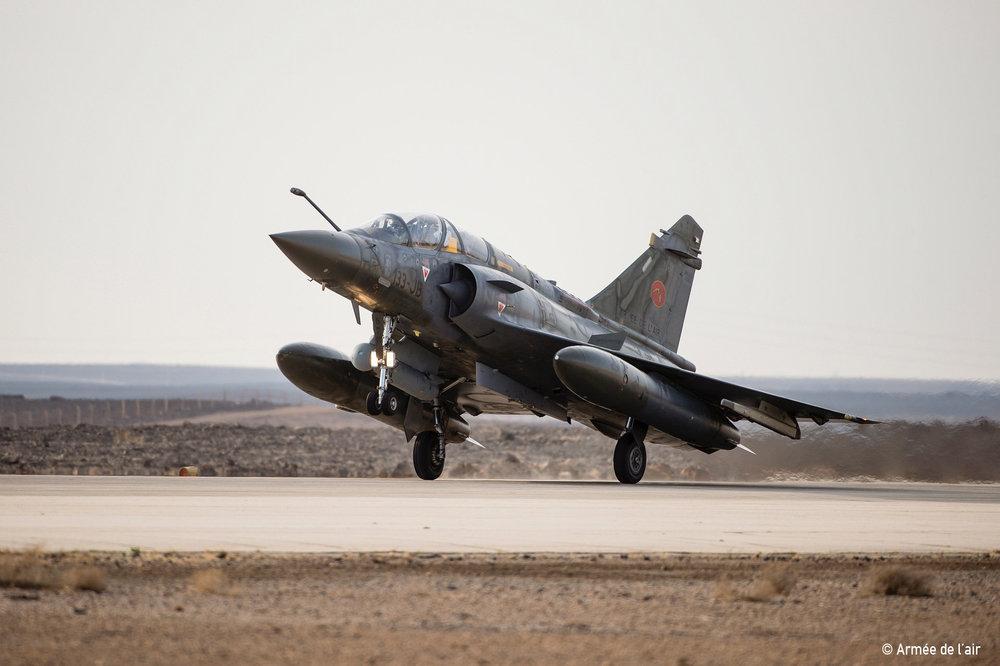 Arrivee des 3 Mirage 2000D