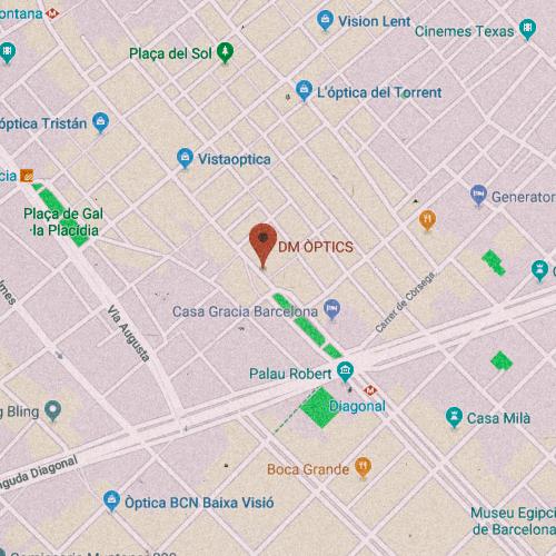 DM ÒPTICS Carrer Gran de Gràcia, 6, 08012 Barcelona 933 68 2419