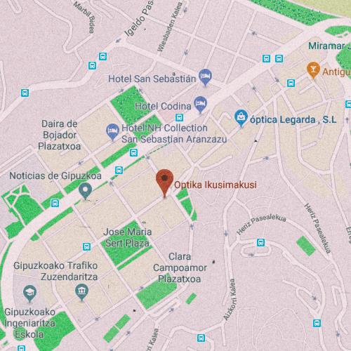 ÓPTICA IKUSIMASUKI Calle de Carmelo Etxegarai, 1, 20018 San Sebastián, Guipúzcoa 943 579 200