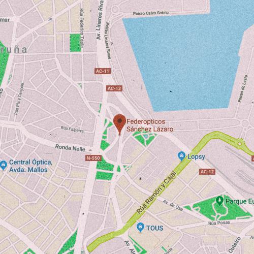 FEDEREÓPTICOS SÁNCHEZ LÁZARO Rúa Santiago Rey Fernández Latorre, 42, 15006 La Coruña 981 232 432