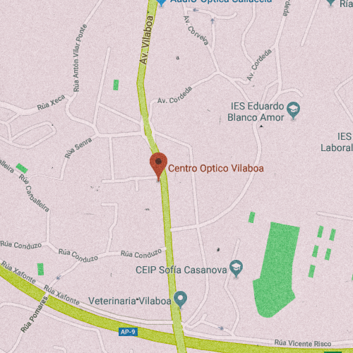 CENTRO ÓPTICO VILABOA Av. Vilaboa, 175, 15174 Conduzo, La Coruña 981 660 861