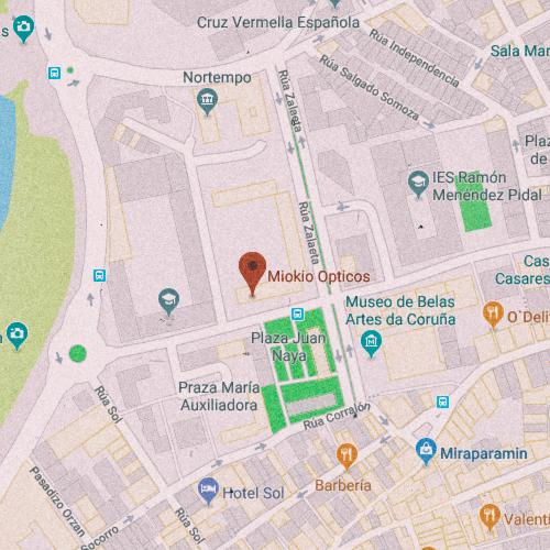 MIOKIO ÓPTICOS Rúa Hospital, 12, 15002 La Coruña 881 878 733