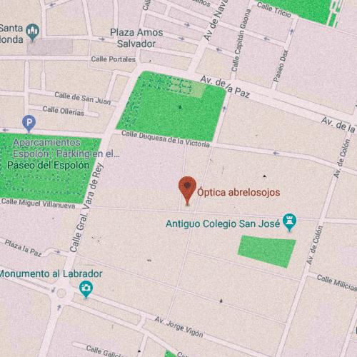 ÓPTICA ABRE LOS OJOS Calle Calvo Sotelo, 13, 26003 Logroño, La Rioja 941 571 750