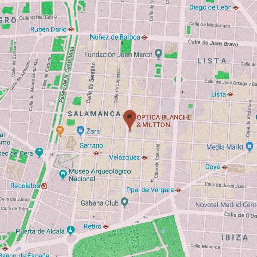 BLANCHE&MUTTON Calle de Velázquez, 46, 28001 Madrid 911 168 778