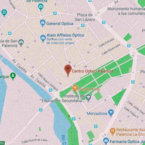 CENTRO ÓPTICO PALENCIA Calle Mayor Principal, 2, 34001 Palencia 979 744 666