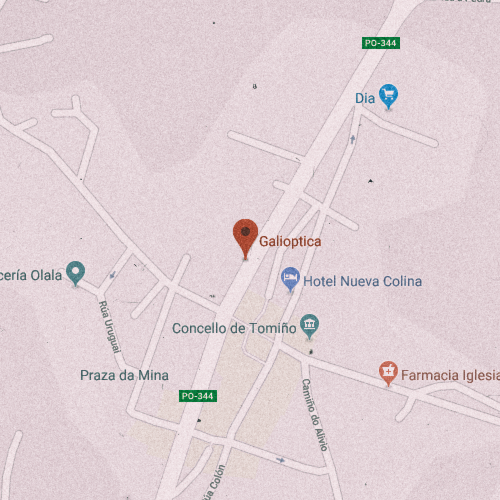 GALIÓPTICA Rúa Gondomar, 32, 36740 Tomiño, Pontevedra 986 622 928