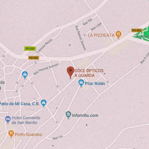 DÖCE ÓPTICOS A GUARDA Concepción Arenal 79, 36780 La Guardia, Pontevedra 986 611 912