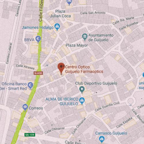 CENTRO ÓPTICO GUIJUELO Calle Reina Sofía, 25, 37770 Guijuelo, Salamanca 923 580 813