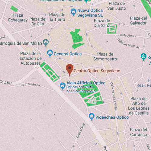 CENTRO ÓPTICO SEGOVIANO Calle Santo Tomás, 1, 40002 Segovia 921 444 723