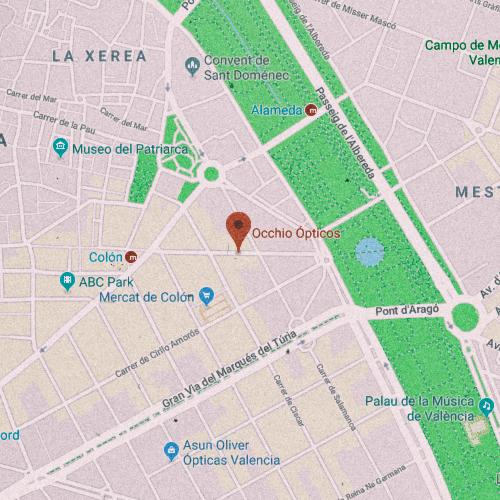 OCCHIO ÓPTICOS Carrer de Sorní, 24, 46004 València 963 521 974