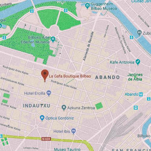 LA GAFA BOUTIQUE BILBAO García Rivero Maisuaren Kalea, 4, 48011 Bilbo, Bizkaia 946 124 744