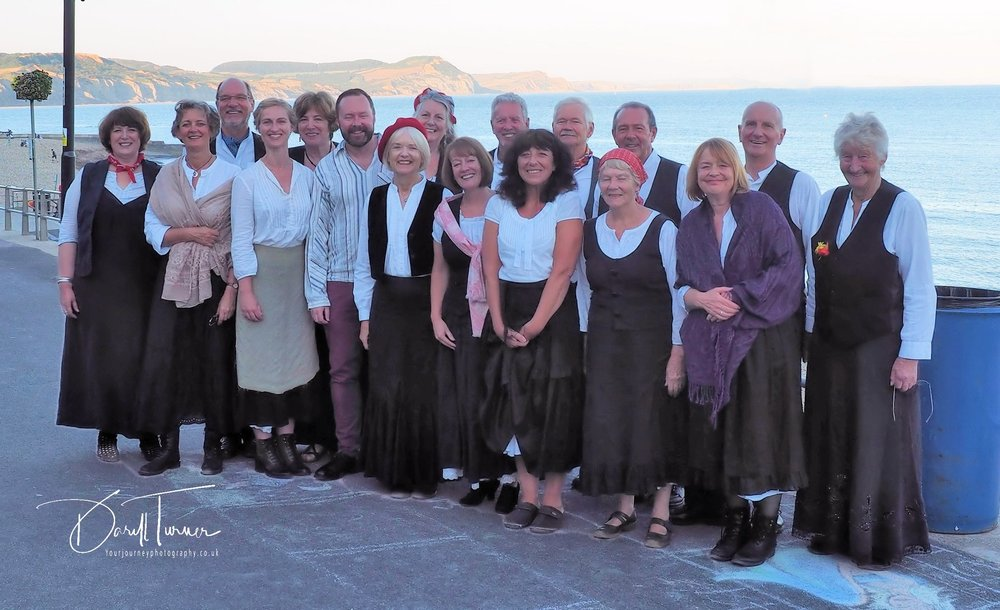 Harbour Voices with Musical Director Mark Hewitt August 2018
