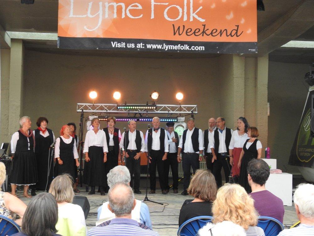 Lyme Regis Folk Festival 2018