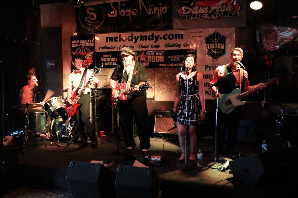 At the Melody Inn, Punk Rock Night