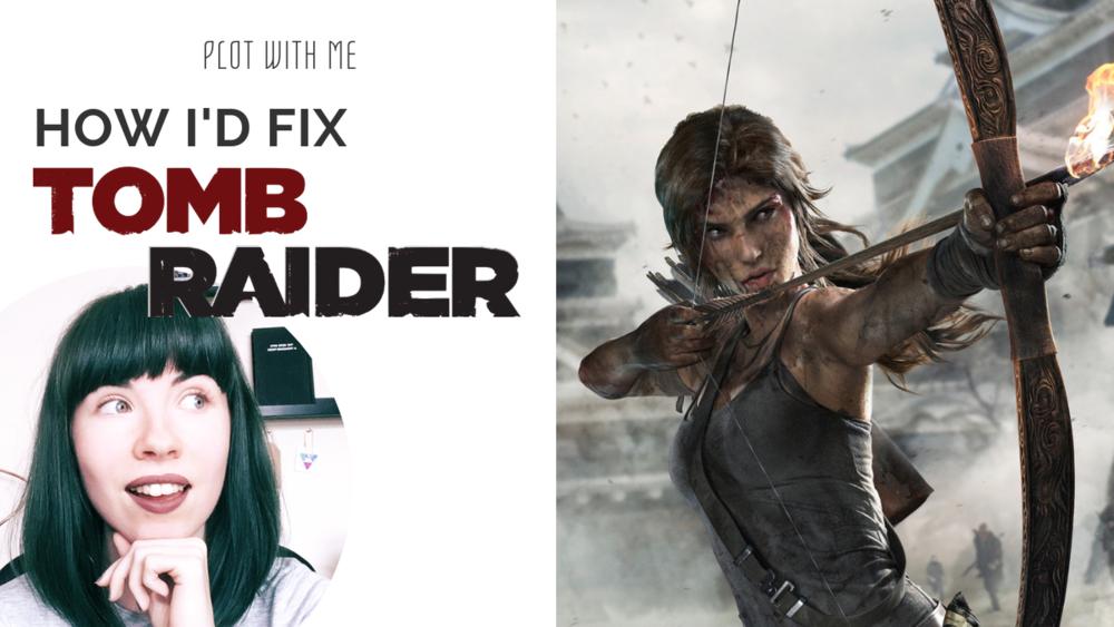 plot with me Tomb Raider Rachael Stephen