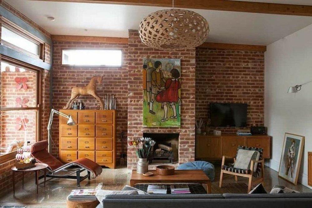 Ladrillo decorativo interior excellent muestrario de - Ladrillo decorativo interior ...