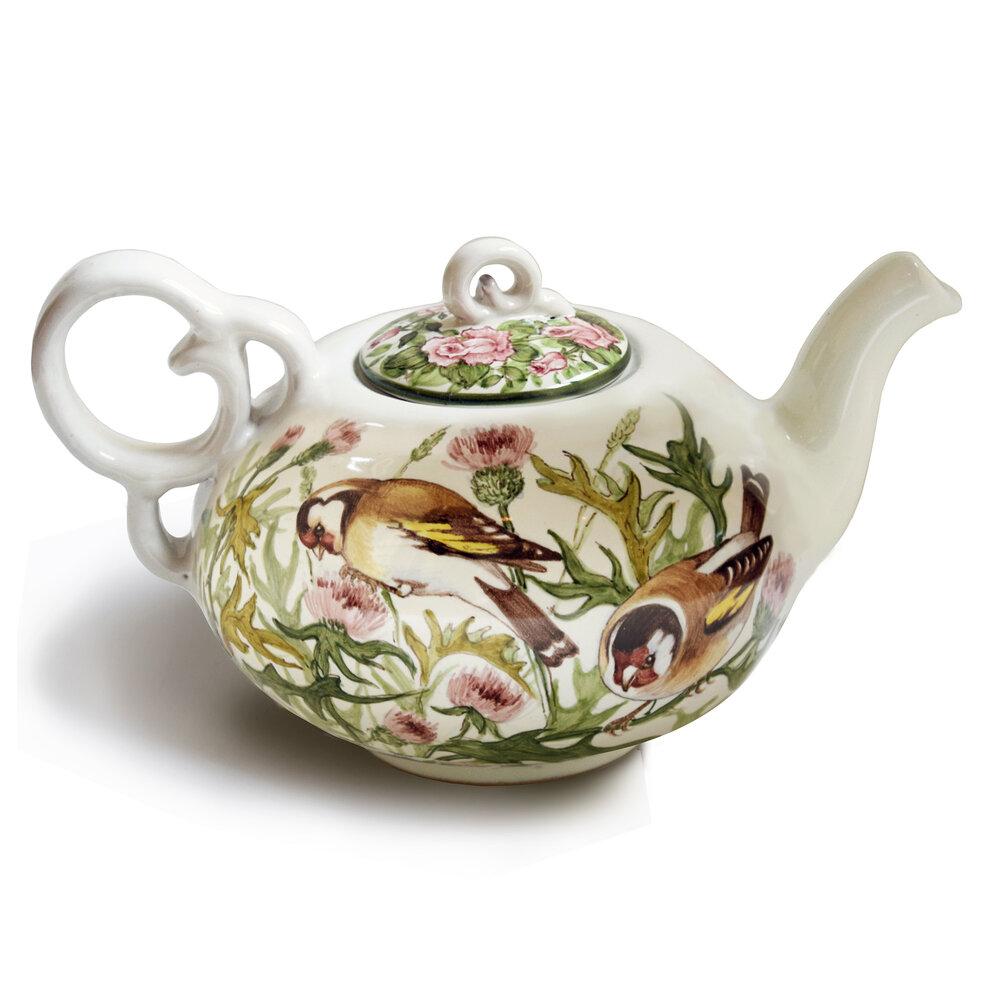Servizio da tè – Teiera (Vista B – cardellini)