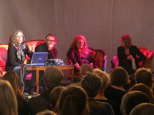 Kerstin Begendal, Axel Lieber, Ann Magnusson och Milou Allerholm