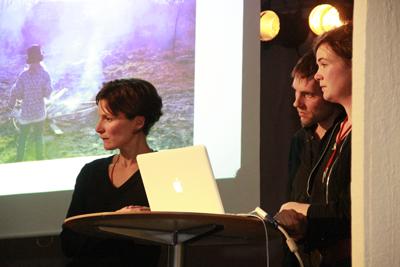 Etta Säfve, Jona Elfdahl och Elin Maria Johansson