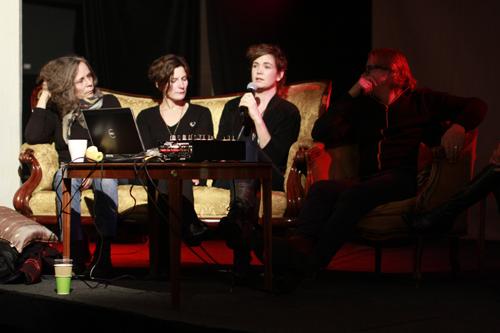 Kerstin Bergendal, Etta Säfve, Elin Maria Johansson och Axel Lieber