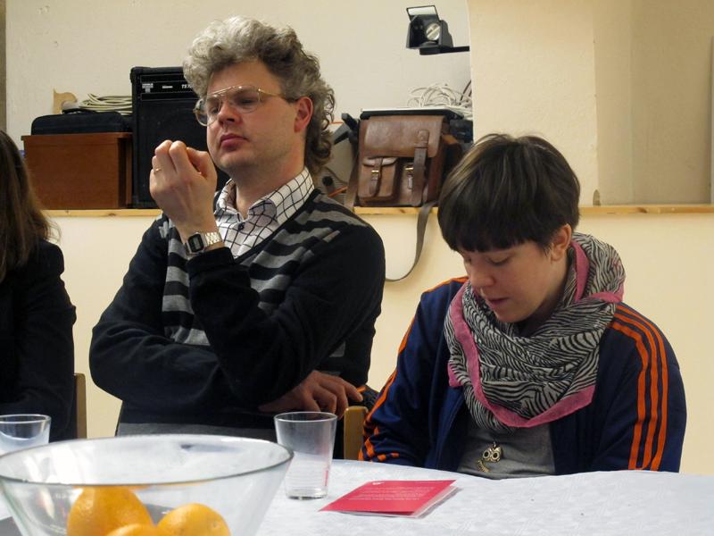 Aron Flemming Falk och Angelica Falkeling